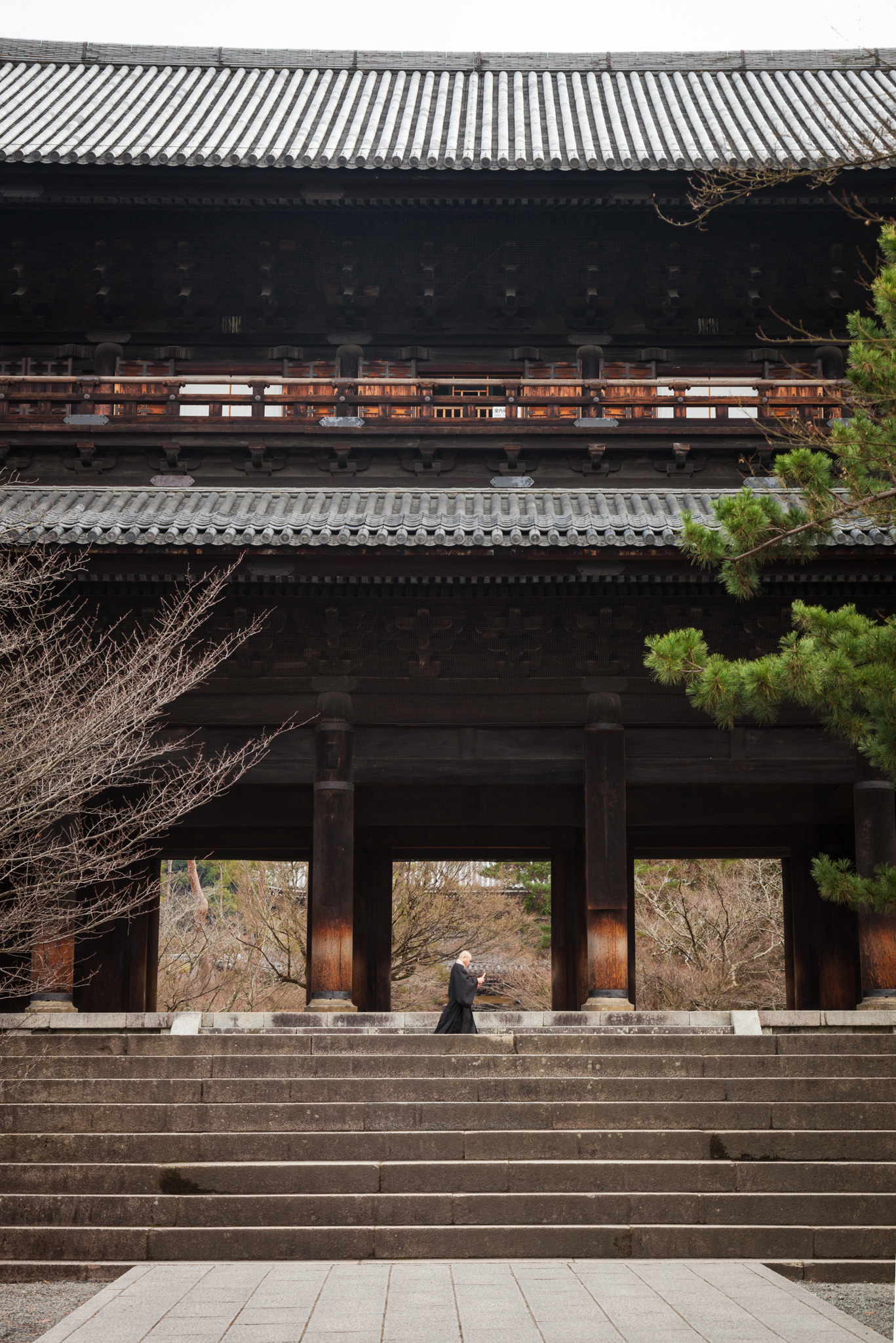 Monk at Nanzen-ji