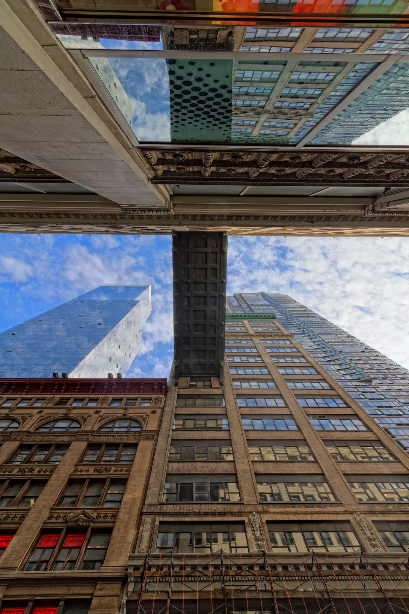 Looking Up in NYC