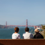Looking at the Golden Gate